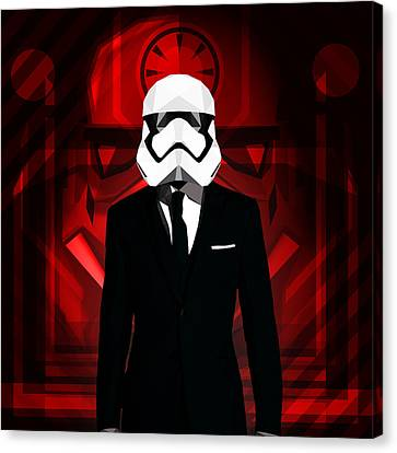 Star Wars Canvas Print by Gallini Design