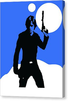 Star Wars Luke Skywalker Collection Canvas Print by Marvin Blaine