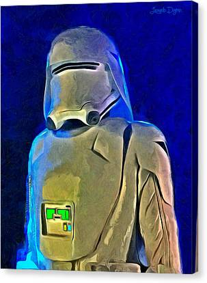Star Wars Snowtrooper - Da Canvas Print