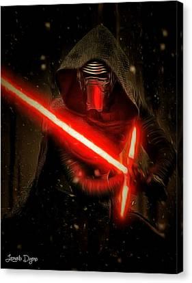 Star Wars Vii Canvas Print by Leonardo Digenio