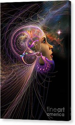 Abstract Digital Canvas Print - Starborn by John Edwards