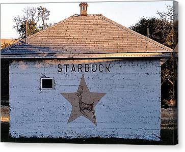 Robert Morrissey Canvas Print - Starbuck Washington by Robert Morrissey