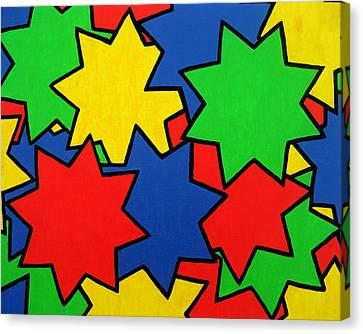 Starburst Canvas Print by Oliver Johnston