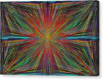 Starburst Canvas Print by Tim Allen