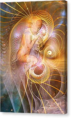Starchild Canvas Print by John Edwards