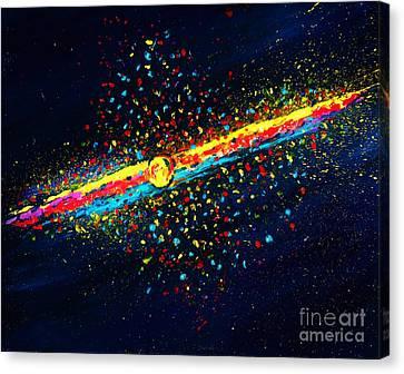 Stardust  Canvas Print by Allison Constantino