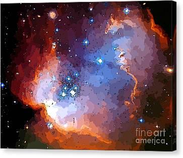 Stardust Three Canvas Print by John Malone