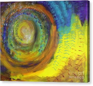 Stardust Canvas Print by Vicki Mae