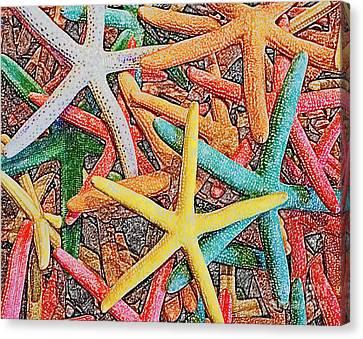 Starfish II Canvas Print