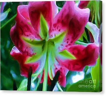 Canvas Print featuring the photograph Stargazer  by Patricia Griffin Brett