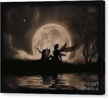 Stargazing Canvas Print by Julie Fain