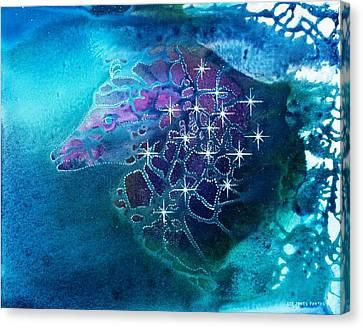 Starhunter Canvas Print by Lee Pantas