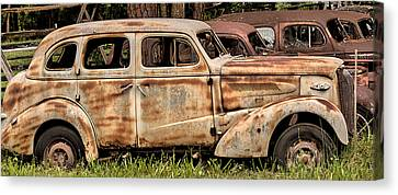 Starke And Rusting Canvas Print by William Jones