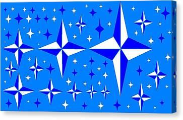 Starlight 9 Canvas Print by Linda Velasquez