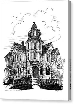 Starrett House Canvas Print by Ernestine Grindal