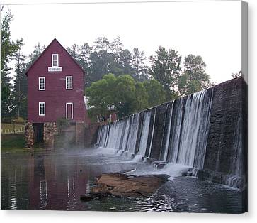 Starrs Mill Ga Canvas Print by Jake Hartz