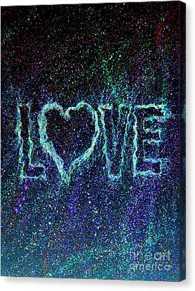 Starry Eyed Love Canvas Print by Bill Holkham