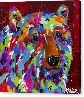 Starry Eyes Canvas Print by Tracy Miller