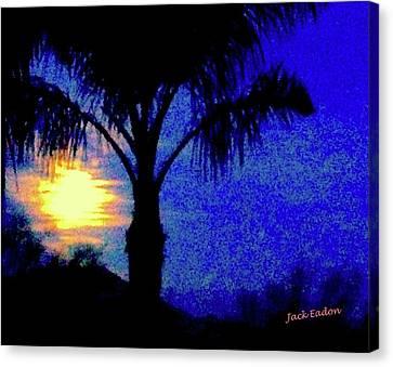 Starry Night At Casapaz Canvas Print by Jack Eadon