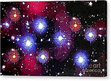 Starry Night Canvas Print by John Malone