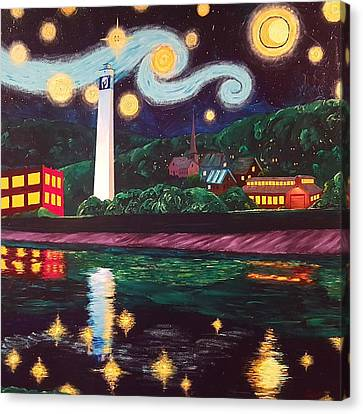 Starry Night With Little Joe Canvas Print