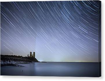 Starry Reculver Canvas Print