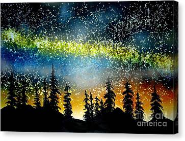 Starry Starry Night Canvas Print by Ed Moore