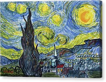 Starry, Starry Night Canvas Print
