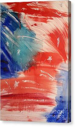 Stars And Stripes Canvas Print by Bryan Fuller