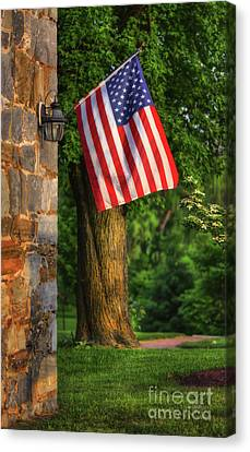 Stars And Stripes Canvas Print by Lois Bryan