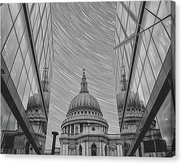 Stars Over St Pauls Canvas Print