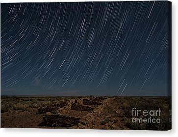 Stars Remain Unchanged Canvas Print by Melany Sarafis
