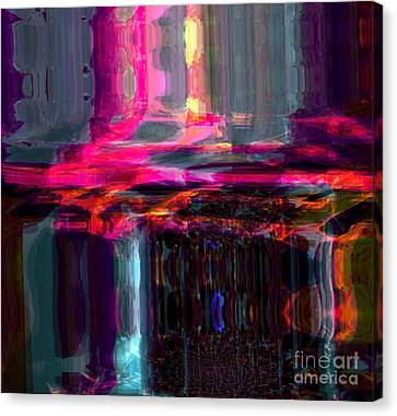 Start  Canvas Print by Fania Simon
