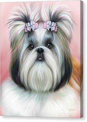 Stassi The Tzu Canvas Print