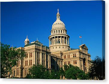 State Capitol Building Austin Tx Canvas Print by Panoramic Images