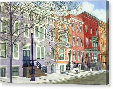 State Street Canvas Print by David Hinchen