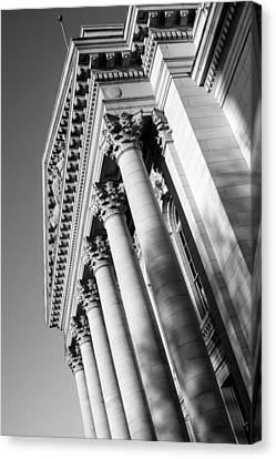 Stately Colonnade Canvas Print by Todd Klassy