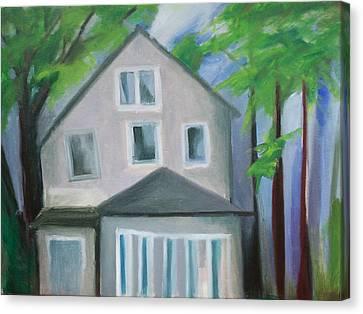 Staten Island House Canvas Print by Ron Erickson