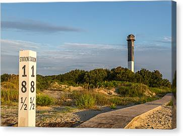 Station 18 1/2 On Sullivan's Island Canvas Print