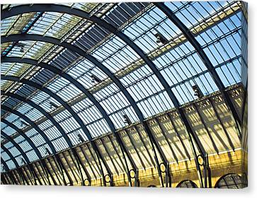Station Roof Canvas Print by Tom Gowanlock