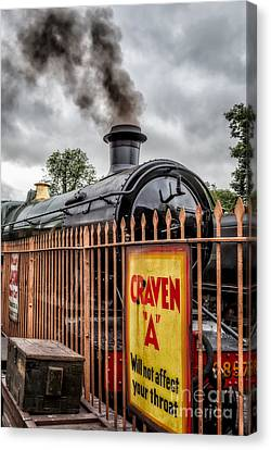 Station Signs Canvas Print by Adrian Evans