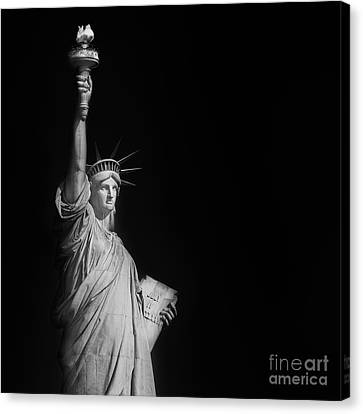 Statue Liberty Canvas Print