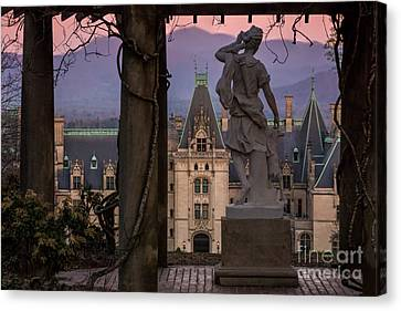 Statue Of Diana Canvas Print