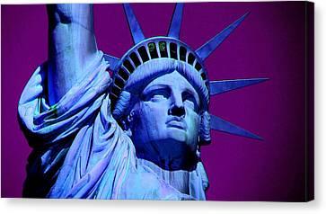 Statue Of Liberty 2 Canvas Print by Otis Porritt