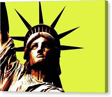 Statue Of Liberty 3 Canvas Print by Otis Porritt