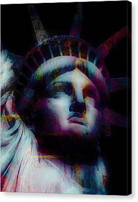 Statue Of Liberty 5 Canvas Print by Otis Porritt