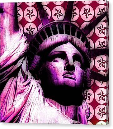 Statue Of Liberty  Canvas Print by Otis Porritt