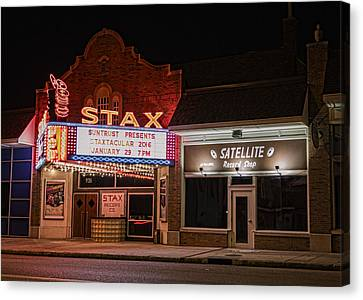 Stax Records - Memphis Canvas Print by Stephen Stookey