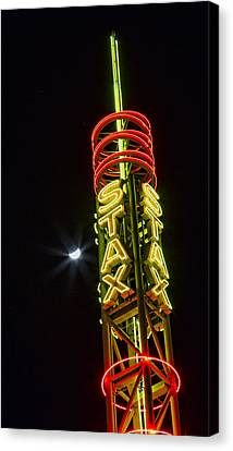 Stax Records Tower Canvas Print by Stephen Stookey