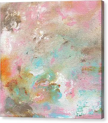 Stay- Abstract Art By Linda Woods Canvas Print
